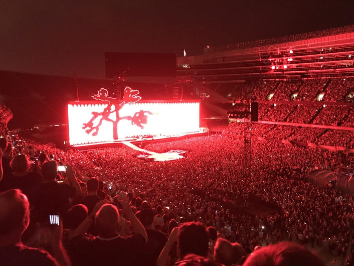 PRG Launches New Technology Solutions on U2 The Joshua Tree Tour 2017