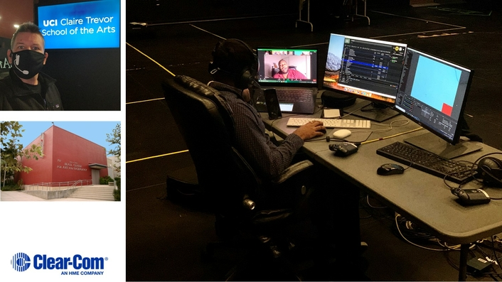 UC Irvine's Claire Trevor School of the Arts Expands Comms to Facilitate Remote Productions & New Learning Opportunities