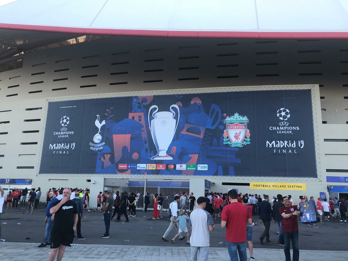 UEFA Champions League Final (Liverpool vs. Tottenham Hotspur)