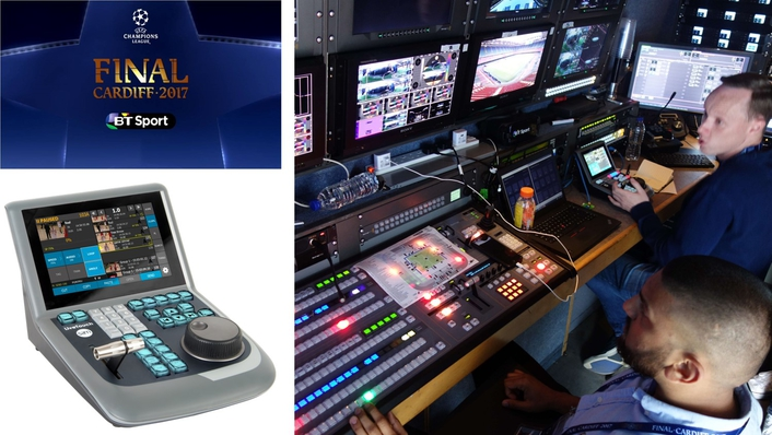 SAM's LiveTouch selected for BT Sport's first 360/VR UHD production of UEFA Champions League final