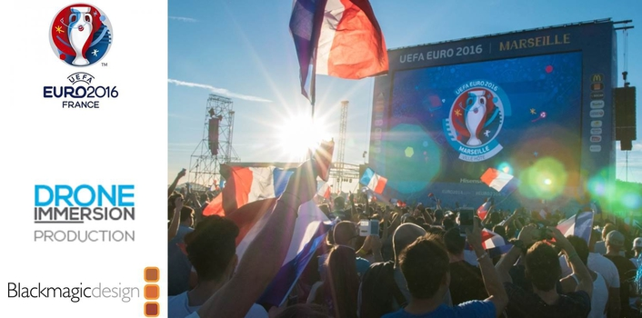 FanZone Action During the 2016 UEFA European Championships Shot on URSA Mini