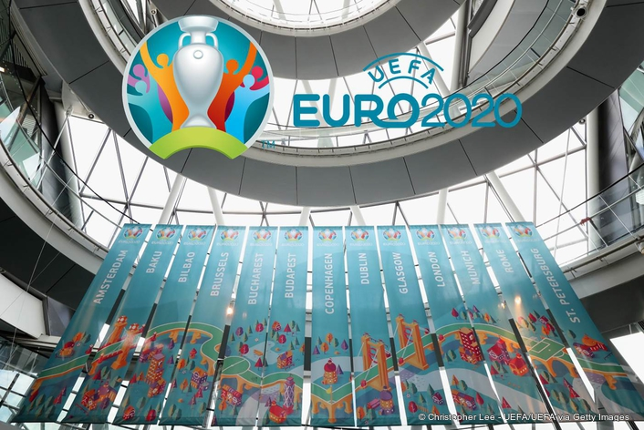 Tournament and London host city logo launch kick off EURO 2020 countdown