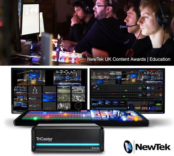 NewTek Announces Winners of its Inaugural NewTek UK Education Awards