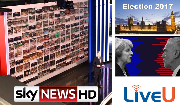 Sky News turns to LiveU once again as it expands deployment for election night