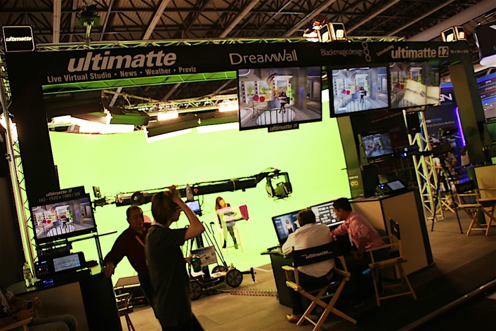 Blackmagic Design acquired cutting edge professional digital audio technology and the world's number one realtime blue and green screen compositing solution!