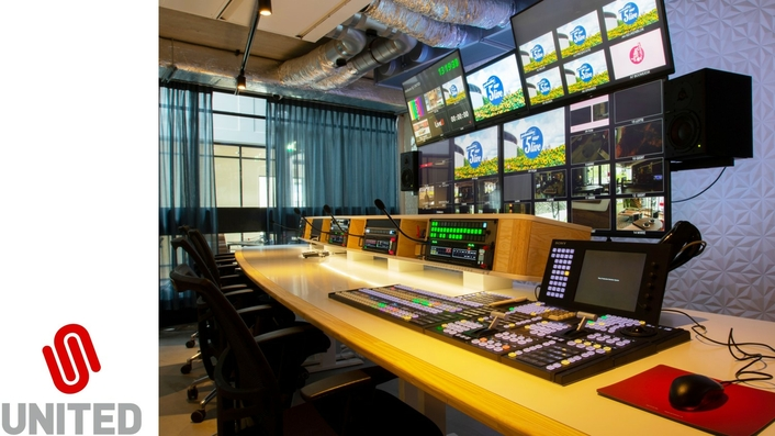 United facilitates remote production of Dutch tv-shows 'time for coffee' and '5 o'clock live'