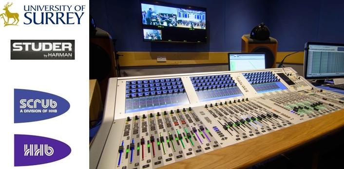 University of Surrey Upgrade to Studer Vista 1