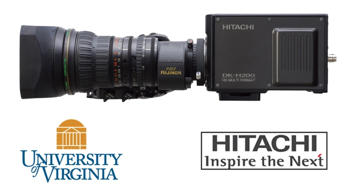 HITACHI HDTV Cameras Take Live Sports Broadcasting Higher at University of Virginia