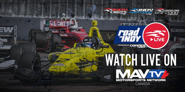 "Nextologies Partners with MAV TV for the Live Remote Production and Transmission of the ""Ricmotech Road to Indy Presented by Cooper Tires iRacing eSeries"""