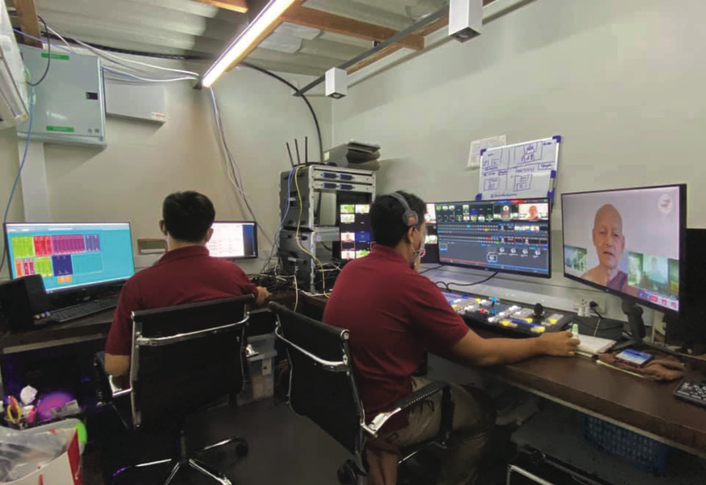 Thai Monastery Wat Na Pa Pong Relies on NewTek TriCaster® and NDI® To Broadcast Timeless Buddhist Teachings