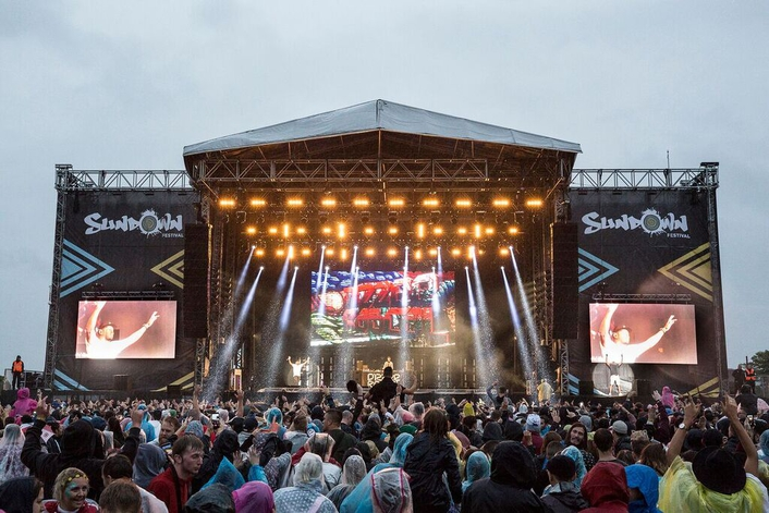 Claypaky takes centre stage at Sundown Festival