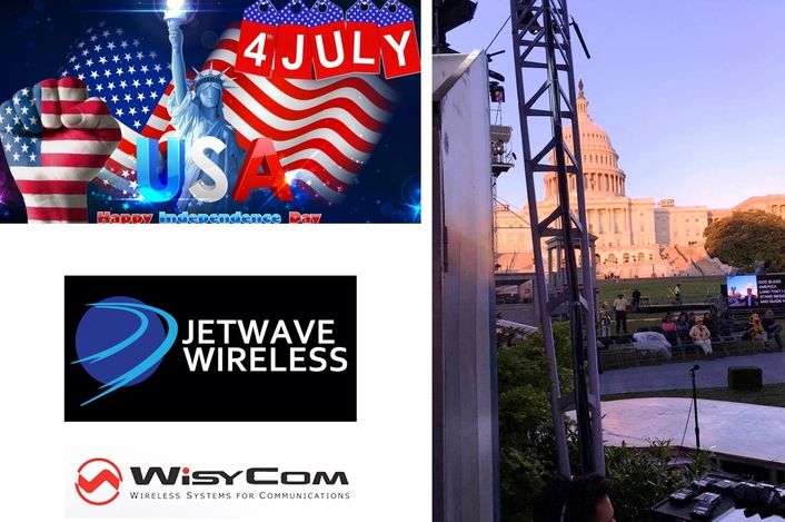 WISYCOM HELPS BROADCAST PBS' 37TH ANNUAL EDITION OF 'A CAPITOL FOURTH' LIVE FROM THE WEST LAWN