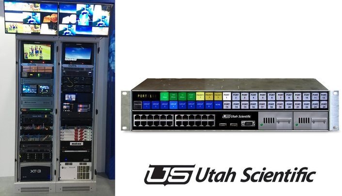 Utah Scientific Developing Next-Generation IP Solutions