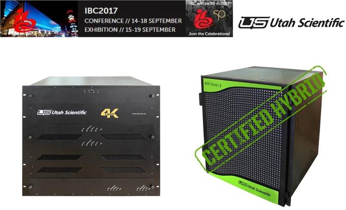 Utah Scientific at IBC2017 Overview