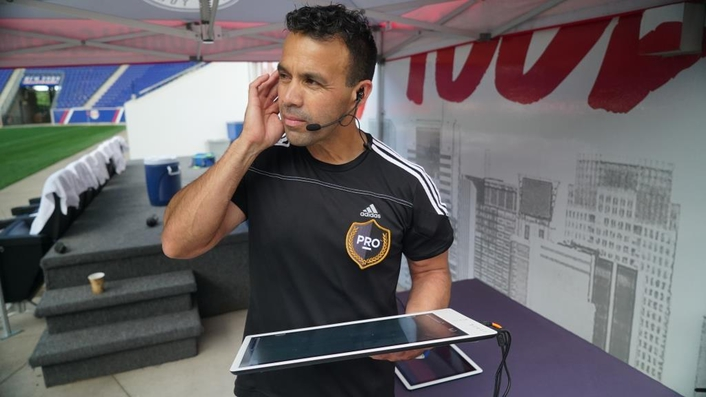 Video assistant referees used in live trials for the first time