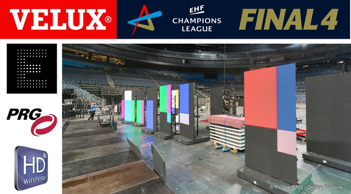 VELUX EHF4 Champions League Finals in the Lanxess Arena, Cologne.