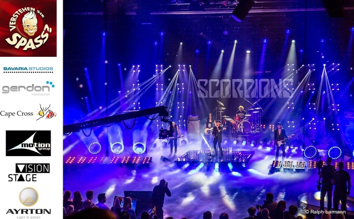 Verstehen sie Spass, a 'hidden camera' television series of two live and two recorded shows, features three musical acts within its format