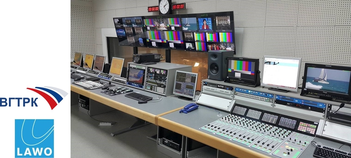 Lawo equipment in Russian Radio and TV stations