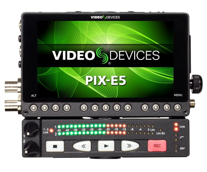 The PIX-LR is an optional accessory that provides the PIX-E5, PIX-E5H, and PIX-E7 monitors with XLR inputs and outputs