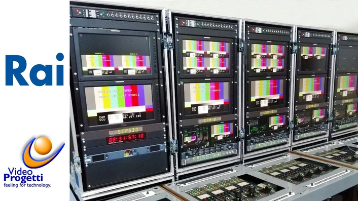 Video Progetti Complete a UHD/HDR Flyaway Production System for RAI