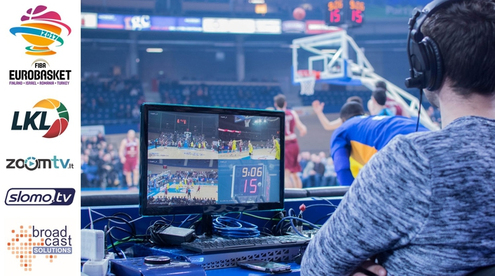 videoReferee® in action as video judging system at Basketball EuroCup 2017 and at NAB