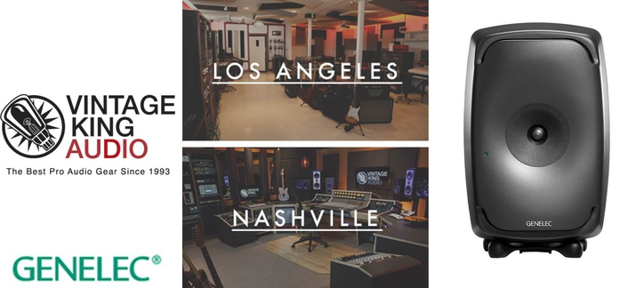 Genelec and Vintage King to Hold L.A. and Nashville Listening Events