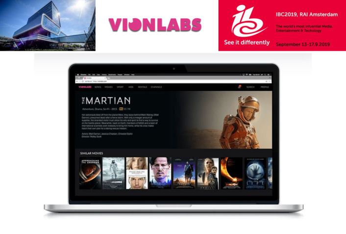 Vionlabs to debut game-changing AI-powered Content Discovery Platform at IBC2019