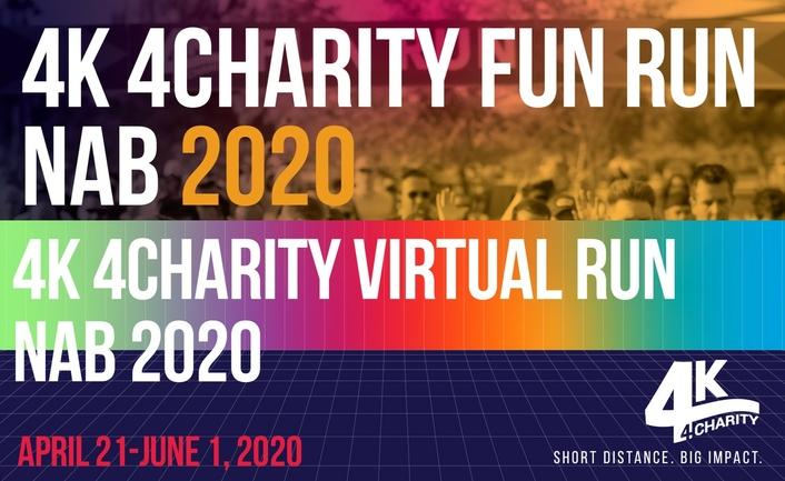 Annual 4K 4Charity Run at NAB Show Goes Virtual