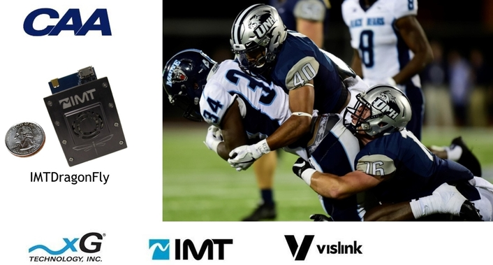 IMT Vislink's Video Technology Powers Vicareo RefCam™  at Nationally Televised NCAA College Football Games