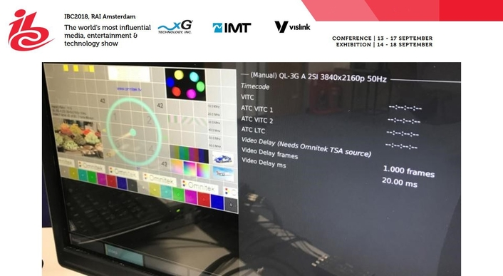 IMT VISLINK DISPLAYS NEW GROUNDBREAKING SINGLE-FRAME LATENCY UHD HCAM AND ULTRARECEIVER WIRELESS CAMERA SOLUTION AT IBC