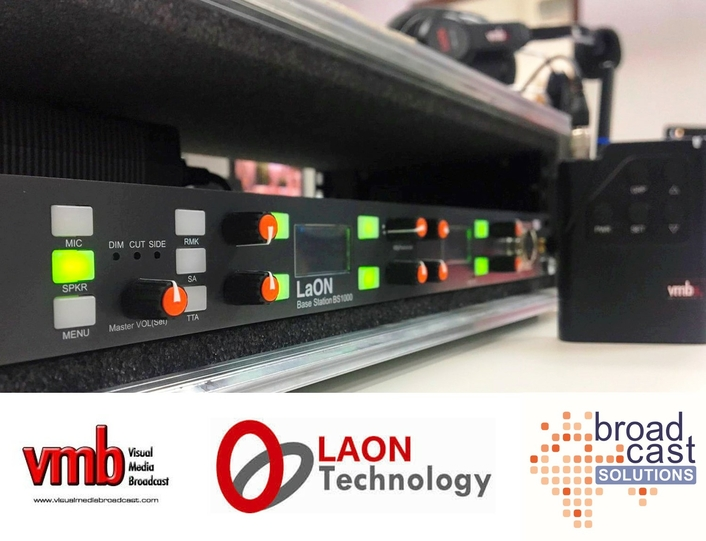 Visual Media Broadcast Spain is the first European user of new LaON GENIE intercom system – distributed throughout Europe by Broadcast Solutions