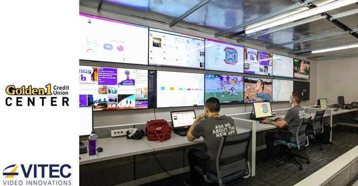 VITEC IPTV Sports Venue Solution Delivers Unprecedented User Experience and Fan Engagement at Golden 1 Center