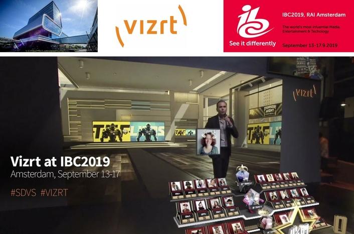 Vizrt presents a tangible vision of the future at IBC2019