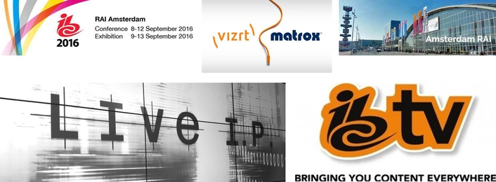 Vizrt and Matrox deliver IP-based graphics production solution for IBC TV's LiveIP studio