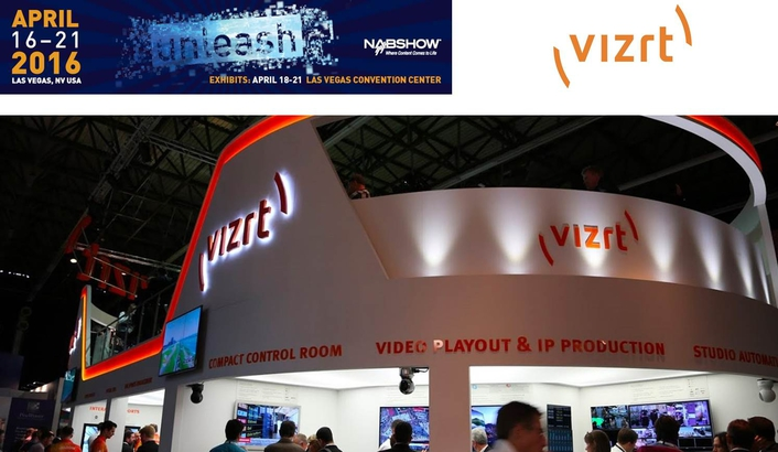 Vizrt to debut new story-based production solutions and live production innovations at NAB 2016