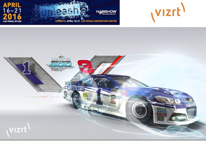 Vizrt brings augmented reality graphics and the virtual window to NAB 2016