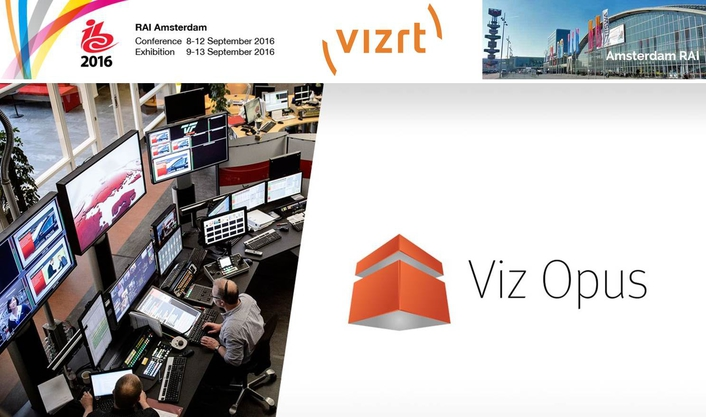 Vizrt showcases the world's most cost-effective journalist-operated live production system at IBC2016