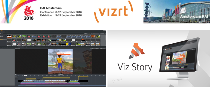 The award-winning Viz Story makes its European debut at IBC 2016