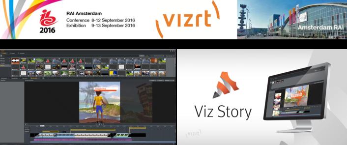 The award-winning Viz Story makes its European debut at IBC 2016