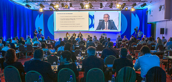 Jean-Paul Philippot (RTBF, Belgium) has been re-elected for a fifth consecutive term as President of the European Broadcasting Union (EBU) at the 76th General Assembly in Bečići, Montenegro