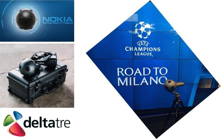 UEFA to undertake virtual reality camera tests at Champions League semi-finals