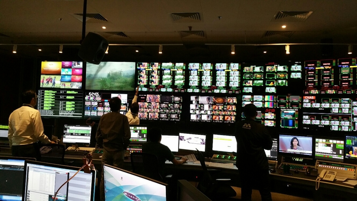 Lawo's VSM in Control at Mediacorp's New Singapore Studio Facility