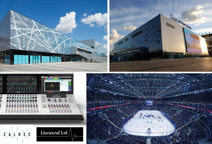 Calrec Audio Summa consoles score big with Russian hockey broadcasters