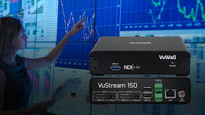VuWall Introduces the VuStream 150 Encoder/Decoder Appliance Advancing Software-Driven IP Workflows With NDI® to Displays and Video Walls