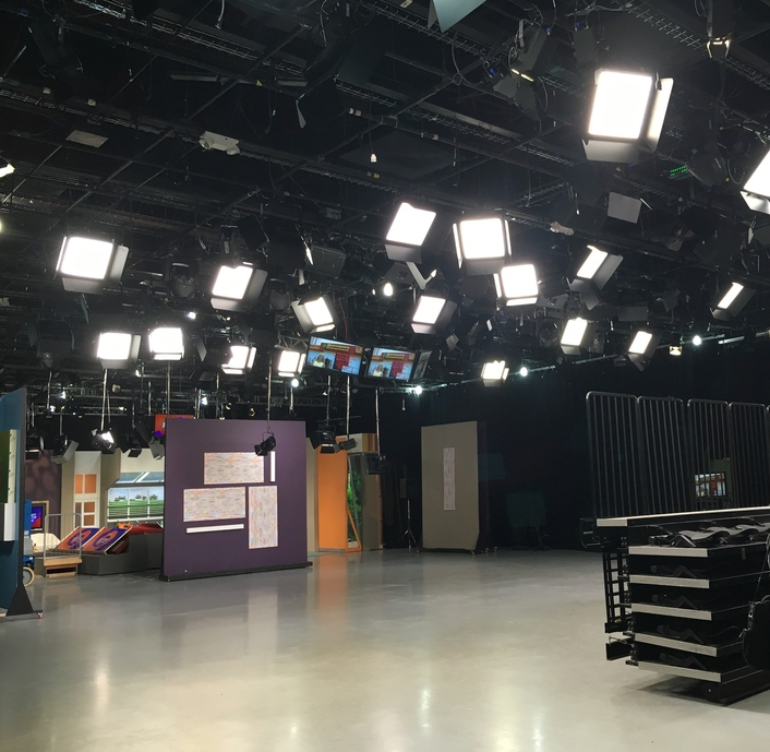 WAPA-TV Studios in Puerto Rico Broadcast Pioneers with Elation LED