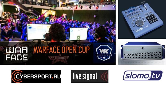 Slomo.TV at Cybersport's Warface Championship