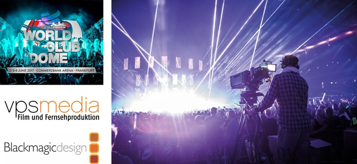 BIG CITY BEATS WORLD CLUB DOME EXPERIENCE DELIVERED BY BLACKMAGIC DESIGN LIVE PRODUCTION WORKFLOW