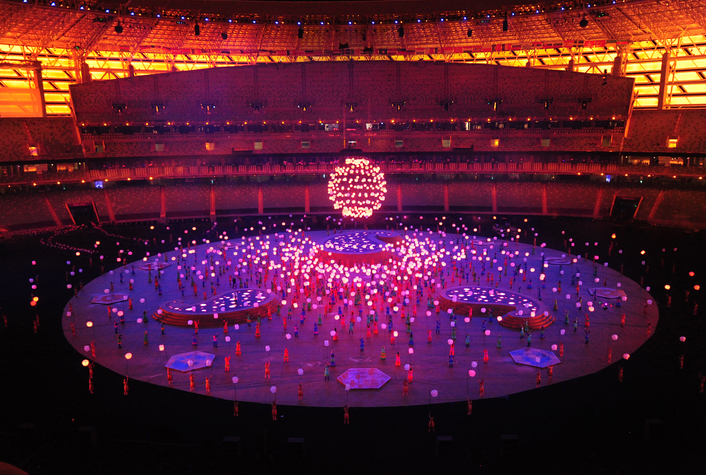 W-DMX™ at the Baku European Games Closing Ceremony