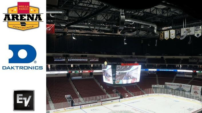 Electro-Voice and Dynacord audio upgrade for Wells Fargo Arena