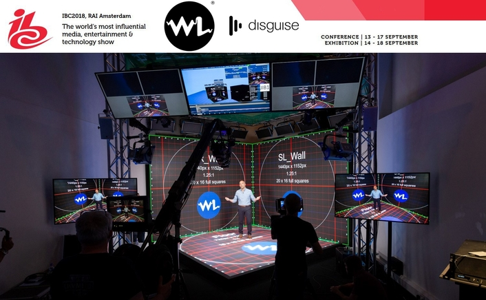 White Light and disguise present the 'Mixed Reality Tech Lab' in the Future Zone of IBC2018